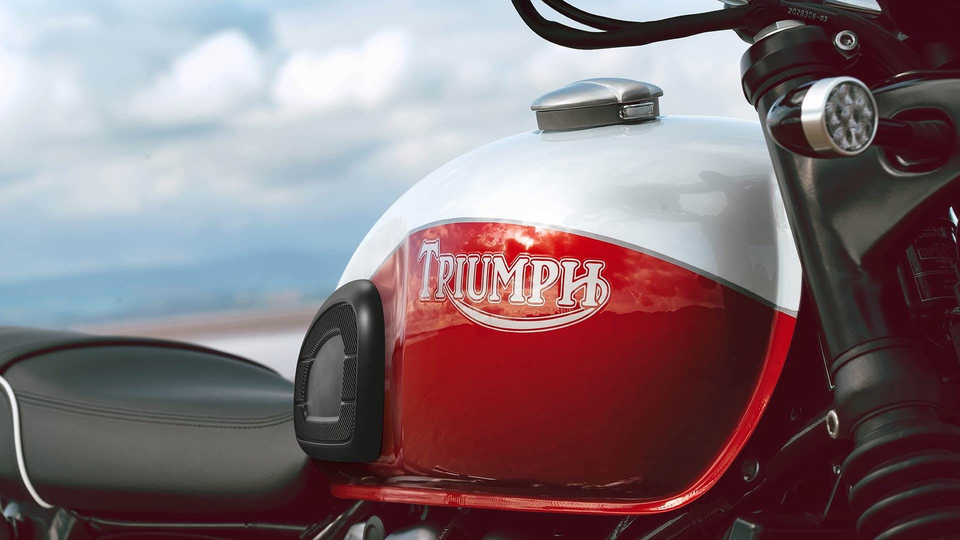 Triumph Bud Ekins T100 fuel tank