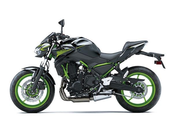Kawasaki Z650L SE in Metallic Spark Black colour