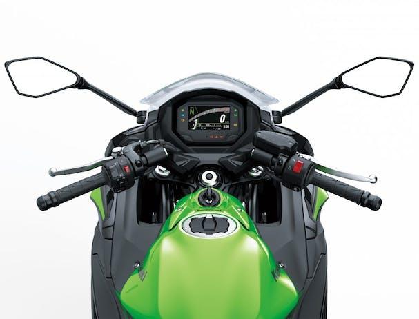 KAWASAKI NINJA 650L ergonomics