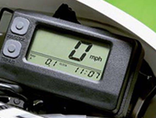 Kawasaki KLX450R speedometer