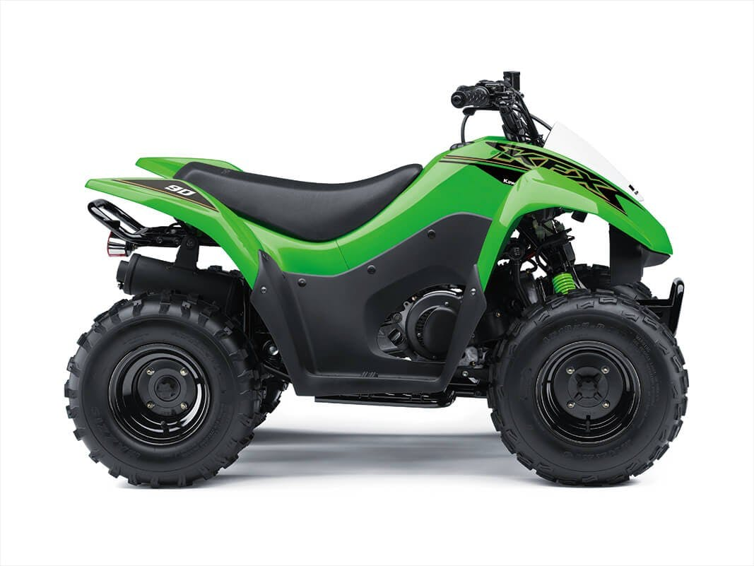 Kawasaki KFX90 in Lime Green colour