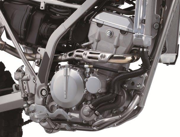 Kawasaki KLX300R chassis