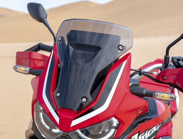 Africa Twin 1100 windshield