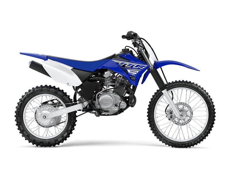 Yamaha TT-R125LWE in Team Yamaha Blue and White colour