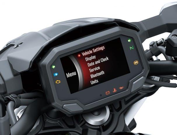 Kawasaki Z650L TFT screen