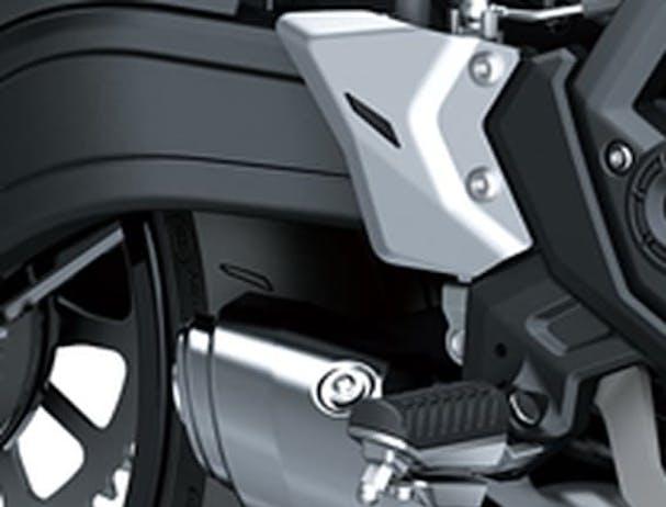 Kawasaki Z650L footpeg