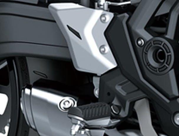 Kawasaki Z650L SE footpeg
