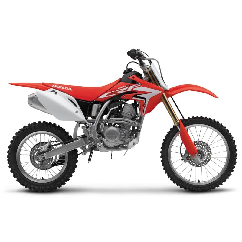 Honda CRF150R in extreme red colour