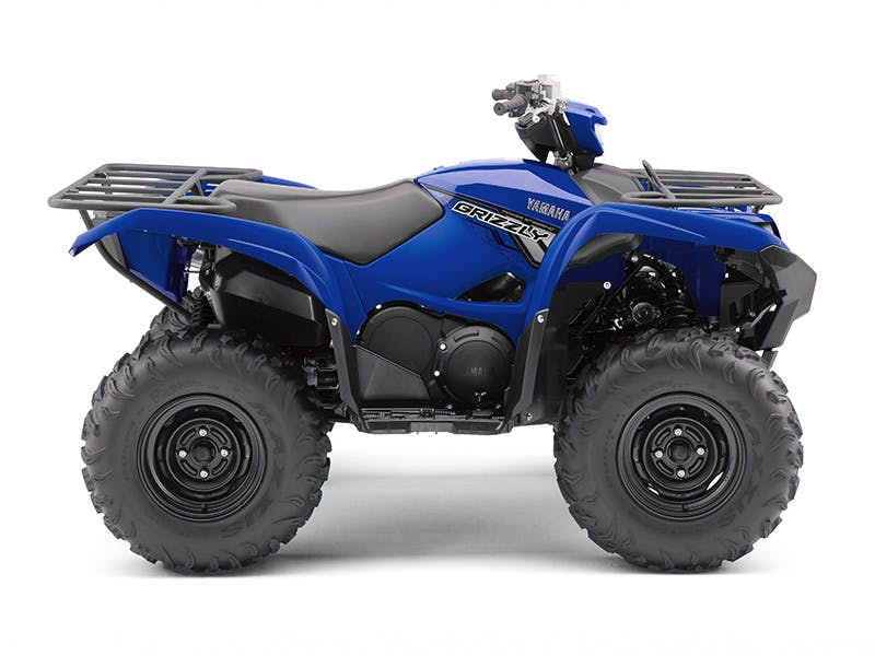 Yamaha Grizzly 700 in Steel Blue colour