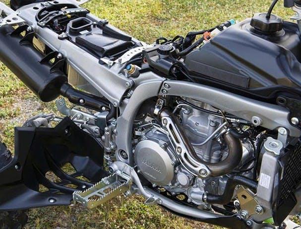 Yamaha YFZ450R frame
