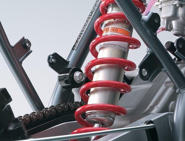 SUZUKI DR-Z125L rear suspension