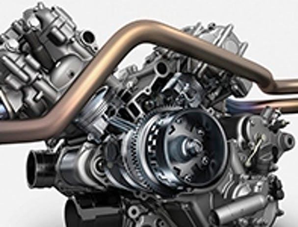 KAWASAKI BRUTE FORCE 750 4X4I CAMO V-Twin Engine