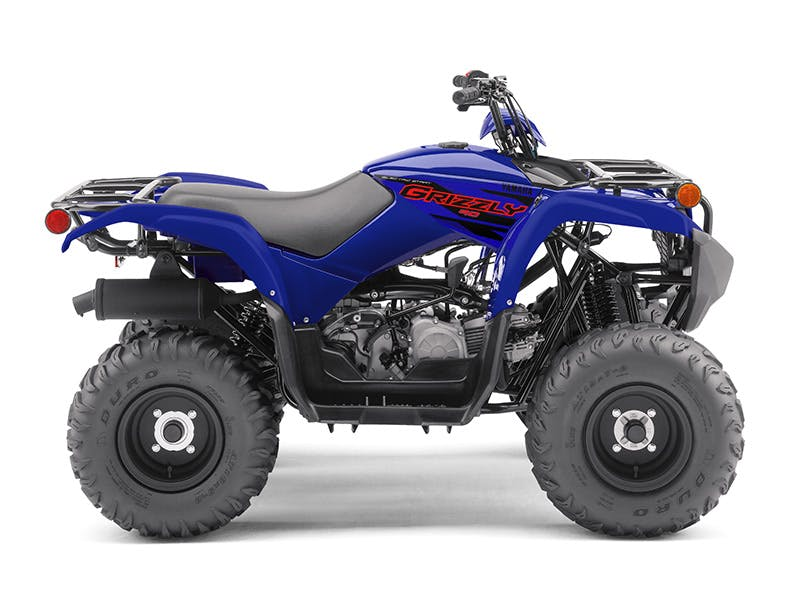 Yamaha Grizzly 90 in Steel Blue colour