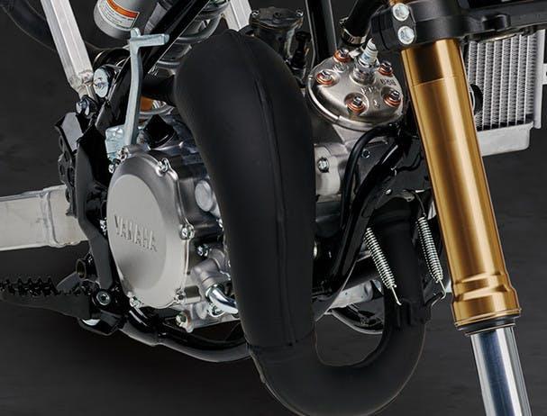 Yamaha YZ65 valve system