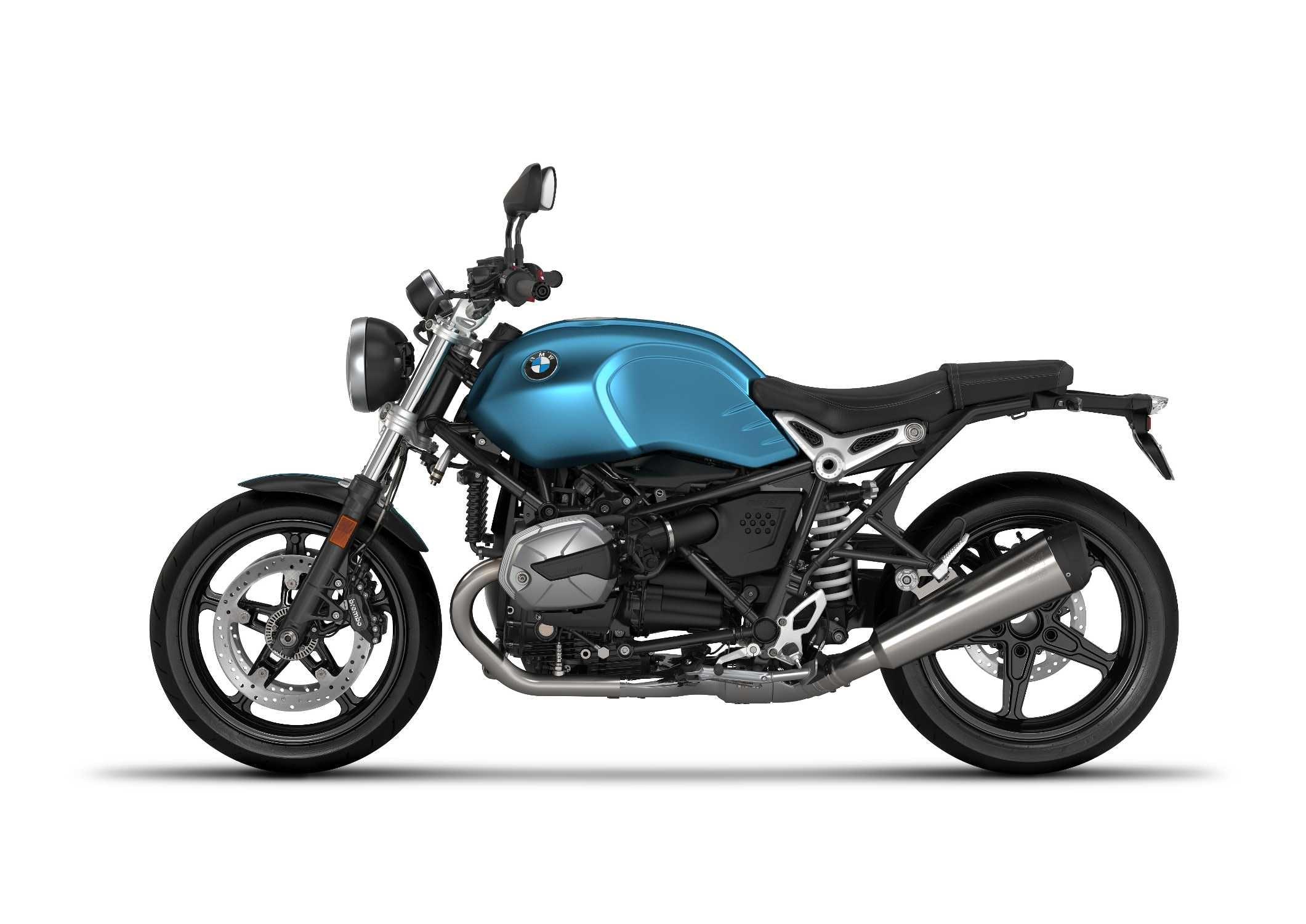 BMW R nineT Pure in Teal Blue Metallic Matt colour
