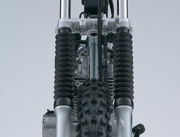 SUZUKI DR-Z125L front forks