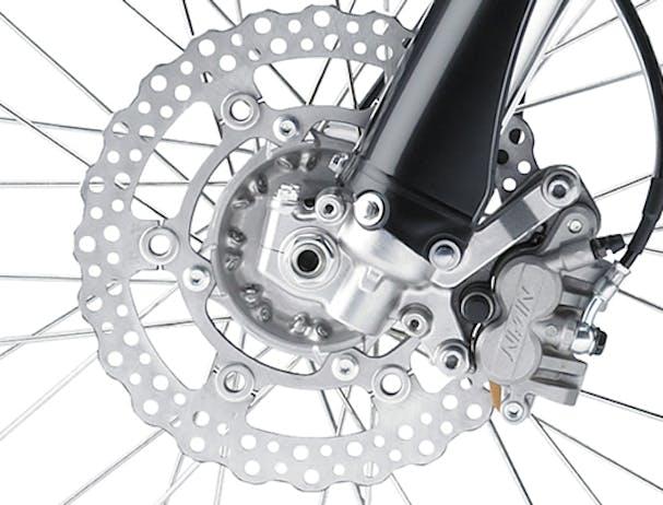 Kawasaki KLX450R disc brake