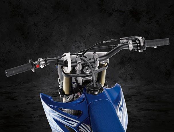 Yamaha YZ85 taper-style handlebars