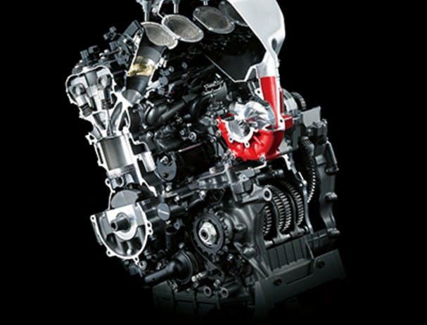 KAWASAKI NINJA H2 CARBON engine