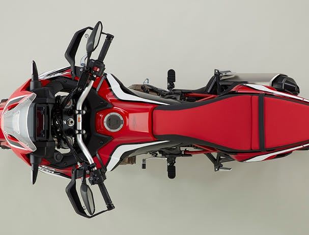 Africa Twin 1100 top view