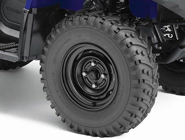 Yamaha Kodiak 450 25 inch tyres