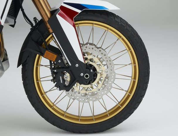 Honda Africa Twin Adventure Sports front tyre