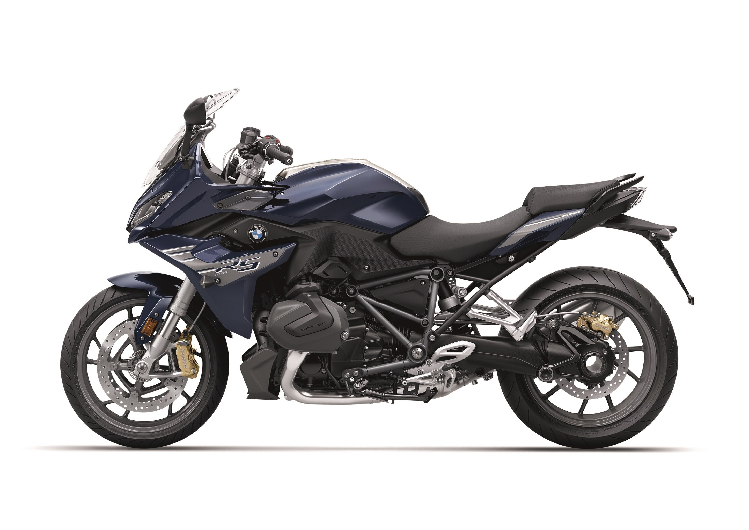 BMW R 1250 RS EXCLUSIVE in imperial blue metallic colour