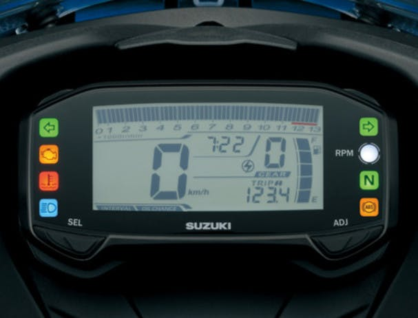SUZUKI GSX-R125 instrument panel