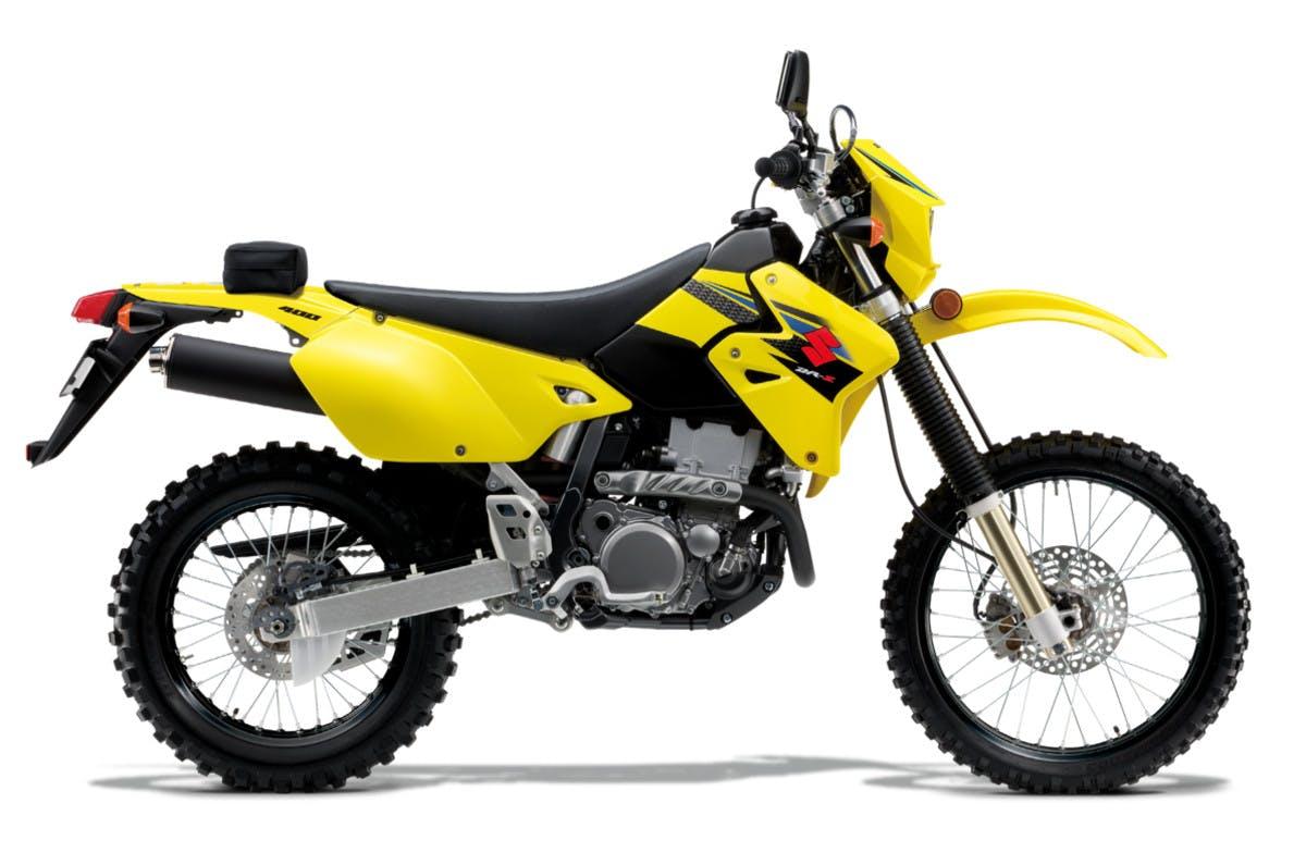 SUZUKI DR-Z400E in champion yellow no.2 colour