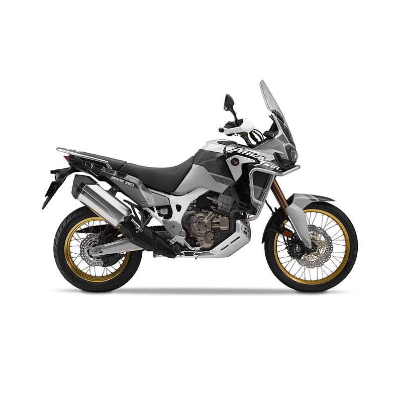 Honda 2019 africa twin adventure sports in digital silver metallic colour