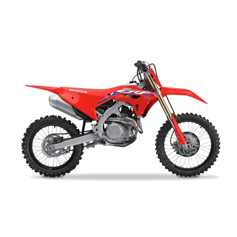 Honda CRF450R in extreme red colour