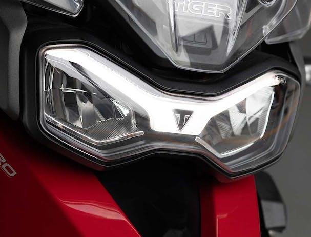 Tiger 900 GT Pro LED light