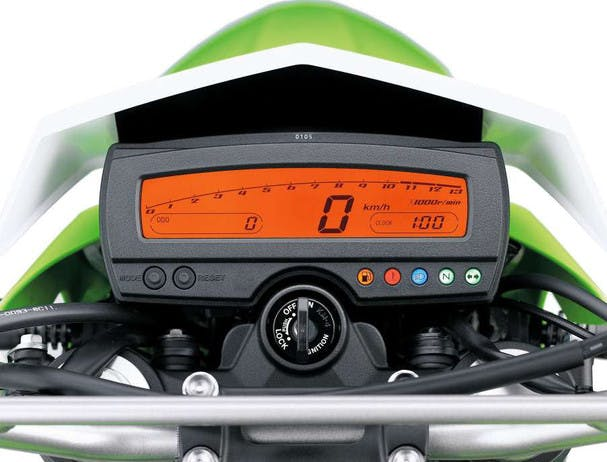 KAWASAKI KLX250S instrument panel