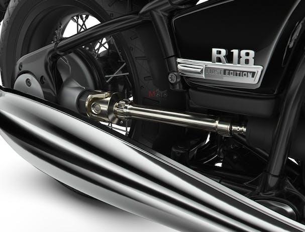 BMW R 18 shaft and frame