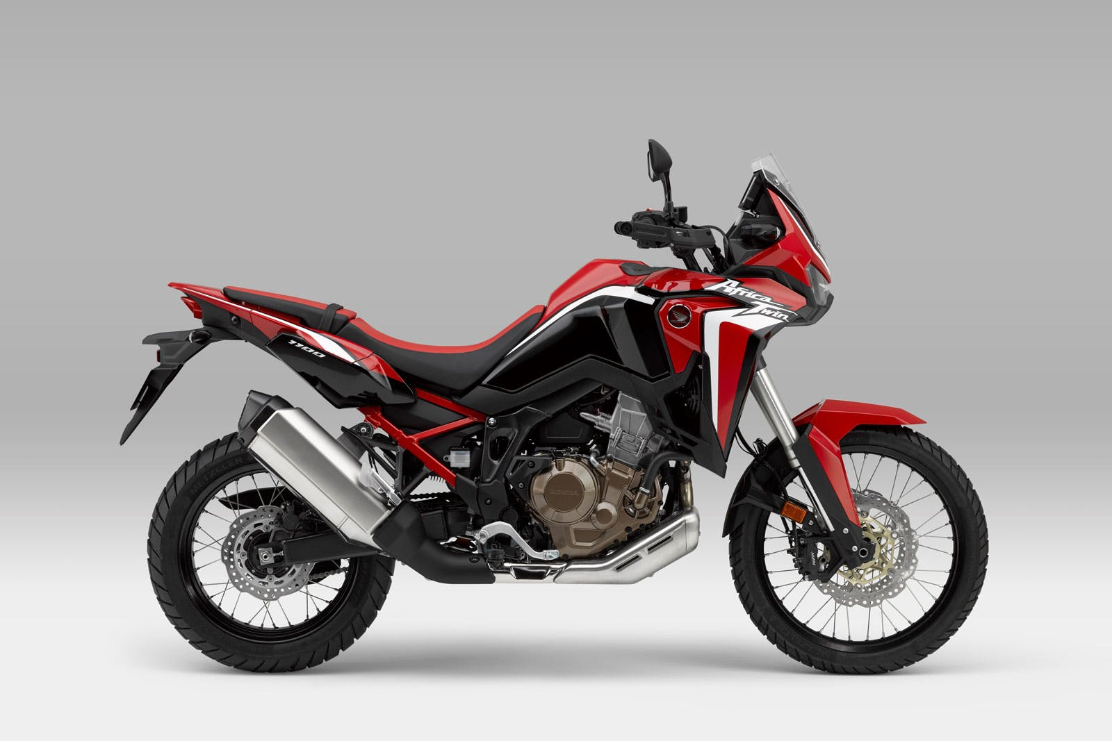 Honda Africa Twin 1100 in Grand Prix Red colour