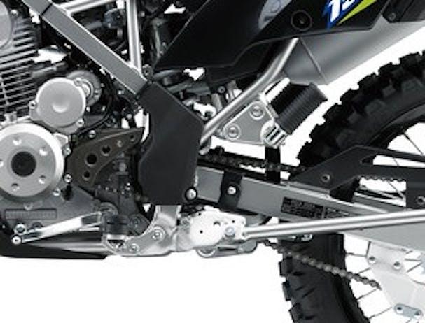 Kawasaki KLX150BF SE rear shock