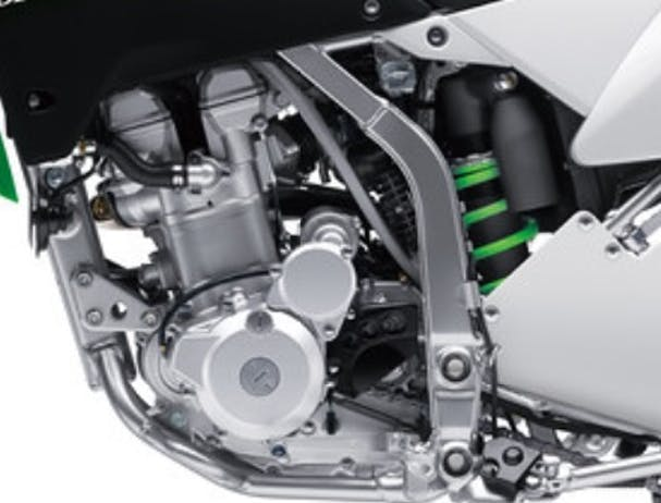 Kawasaki KLX250S rear suspension