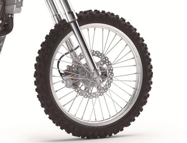 Kawasaki KLX300R disc brakes