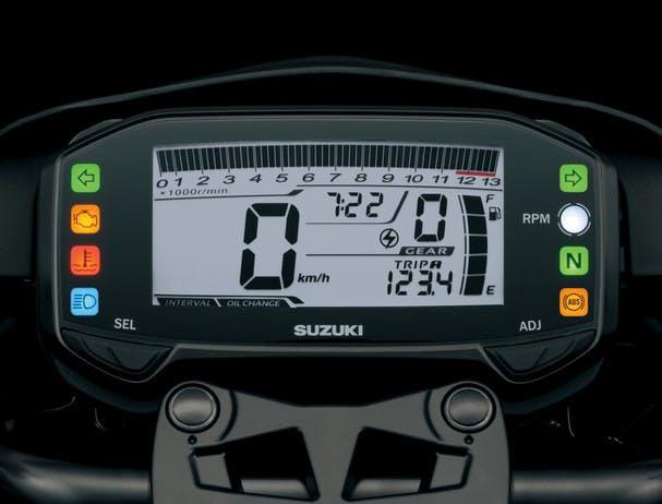 SUZUKI GSX-S125 instrument panel