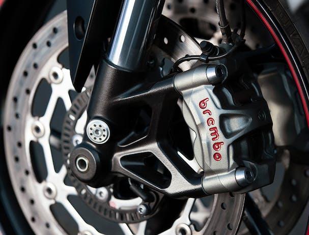 Triumph Street Triple RS brake