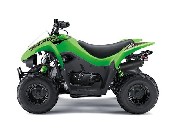 Kawasaki KFX50 in Green colour