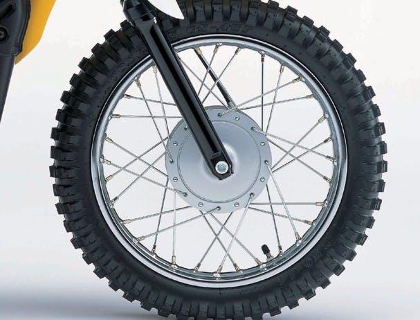 SUZUKI JR80 front wheel