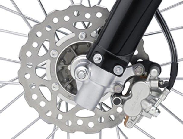 KAWASAKI KX85-II disc brakes