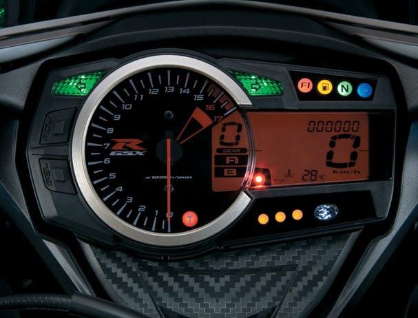 SUZUKI GSX-R600 instrument panel