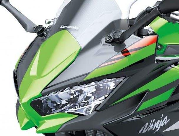 Kawasaki Ninja 650L SE headlight