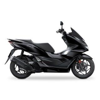 Honda PCX in Poseidon Black colour