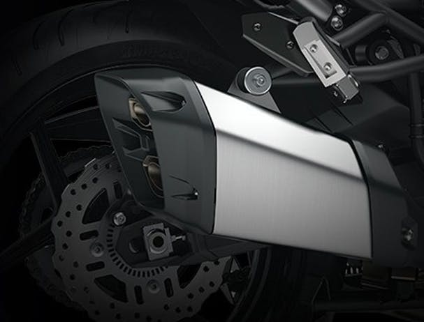 Kawasaki Versys 1000 SE exhaust