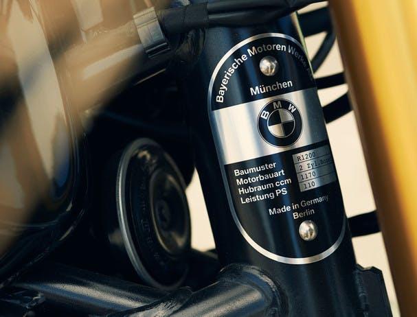 BMW R NINET SPEZIAL plate