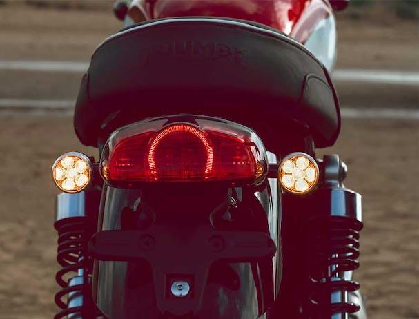 Triumph Bud Ekins T120 tail light