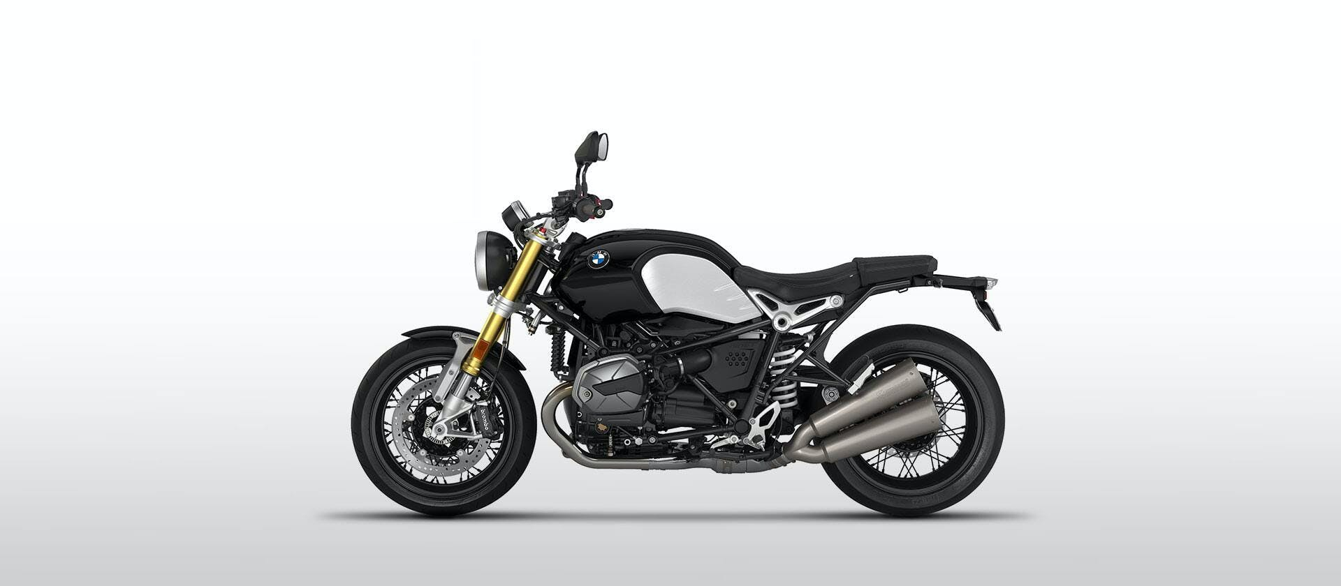 BMW R NINET in black storm metallic colour